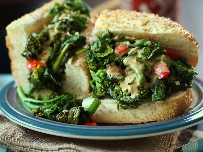 rapini sandwich recipe