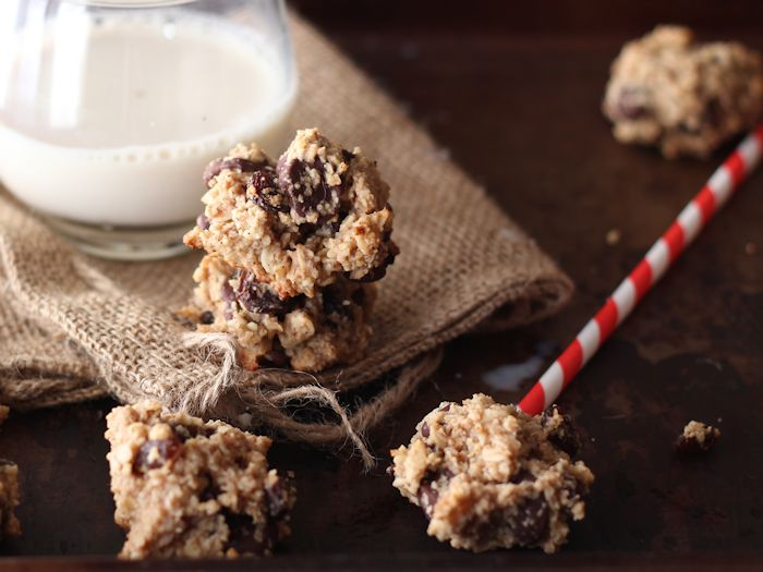 Healthy(ish) Gluten Free Oatmeal Raisin Chocolate Chip Cookies