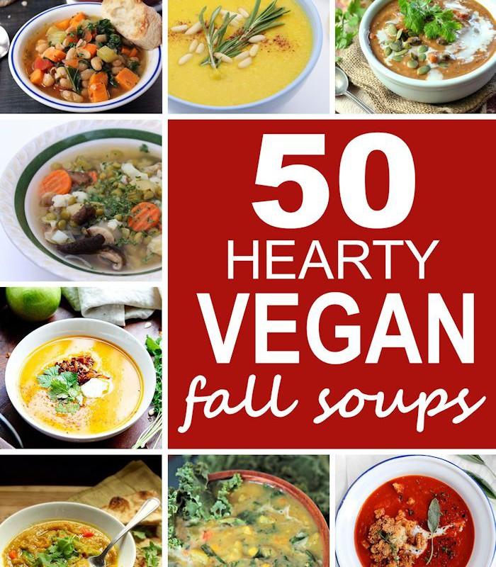 50 Hearty Vegan Fall Soups