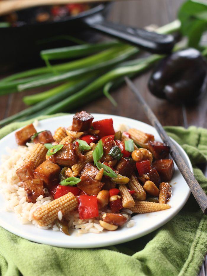 Kung Pao Tofu Connoisseurus Veg