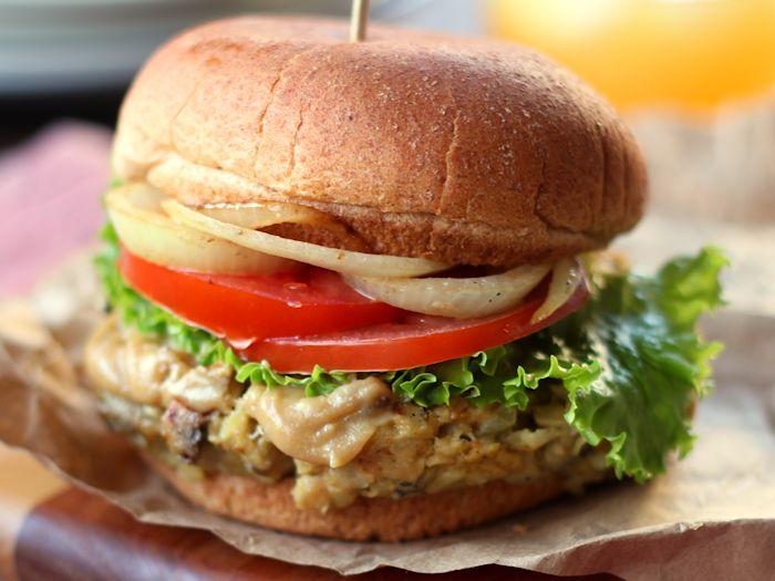 Savory Mushroom Burgers