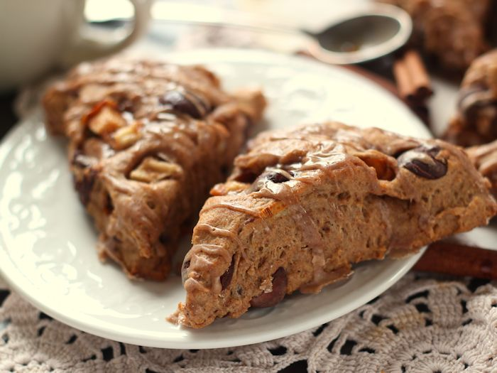Chocolate Chunk Pear Scones