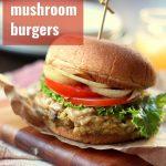 Vegan Mushroom Burgers