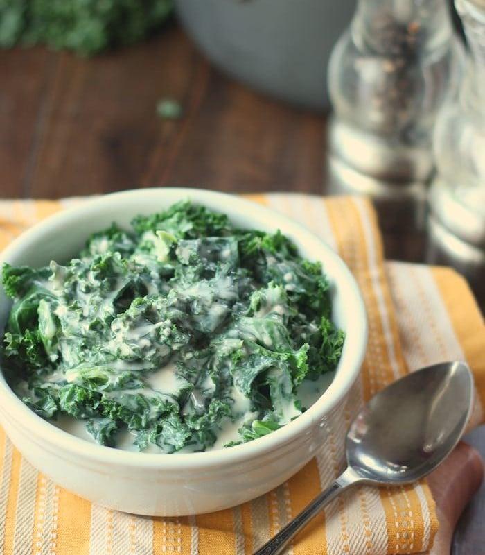 Vegan Creamy Kale, Version 2.0