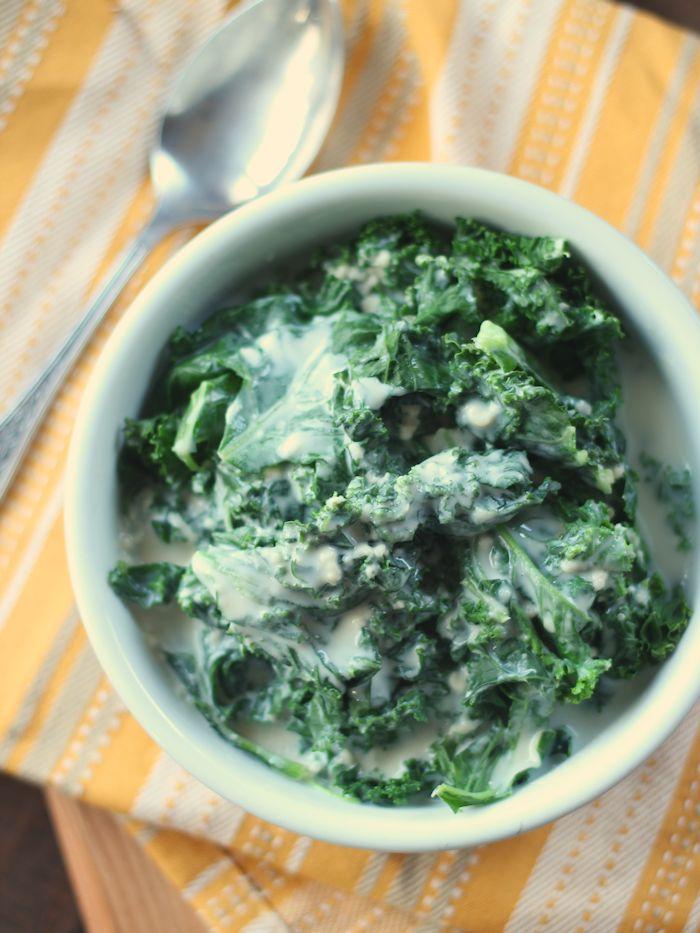 Vegan Creamy Kale