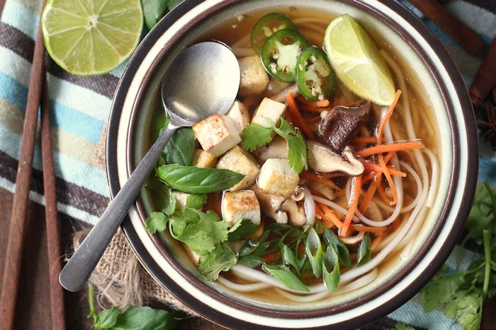 Easy Vegan Pho