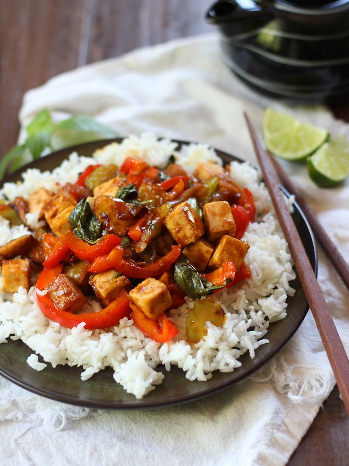 Connoisseurus Veg Best of 2015: Caramelized Shallot Tofu Stir-Fry