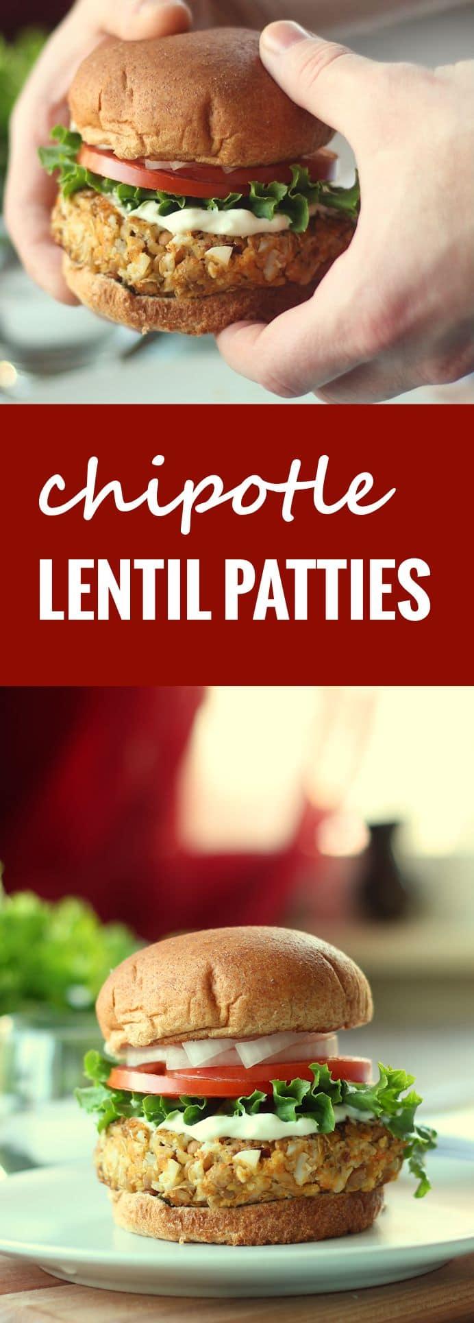 Chipotle Lentil Patties
