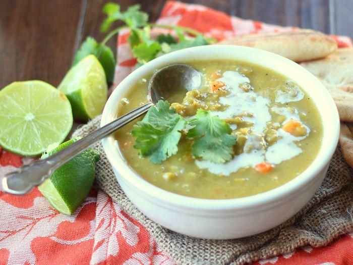 Curried Split Pea Soup