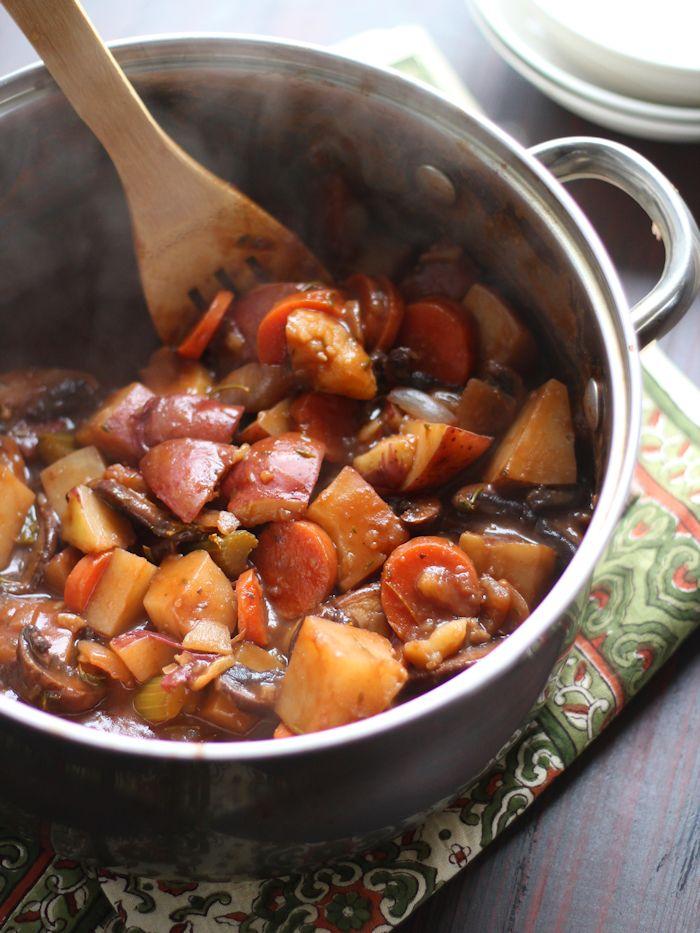 Vegan Beef StewConnoisseurus Veg