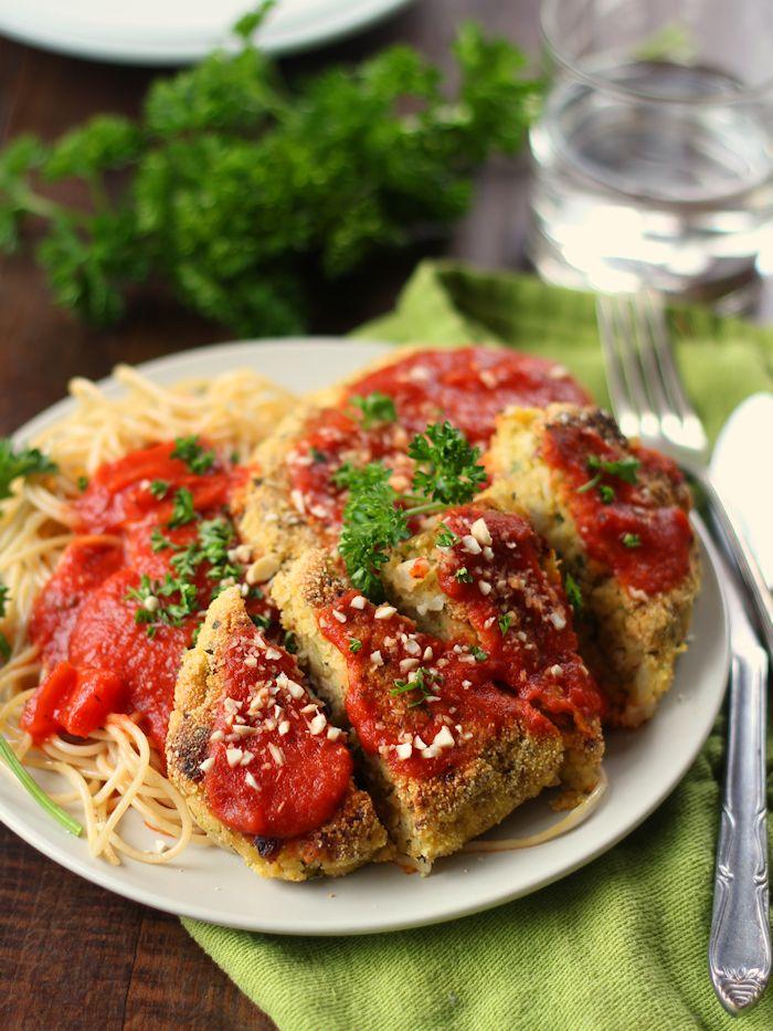 Vegan Chicken Parmesan