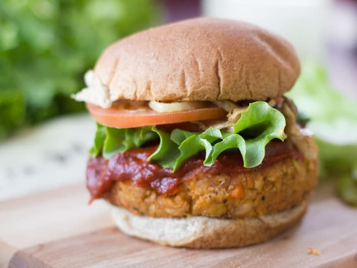 Vegan Meatloaf Burgers