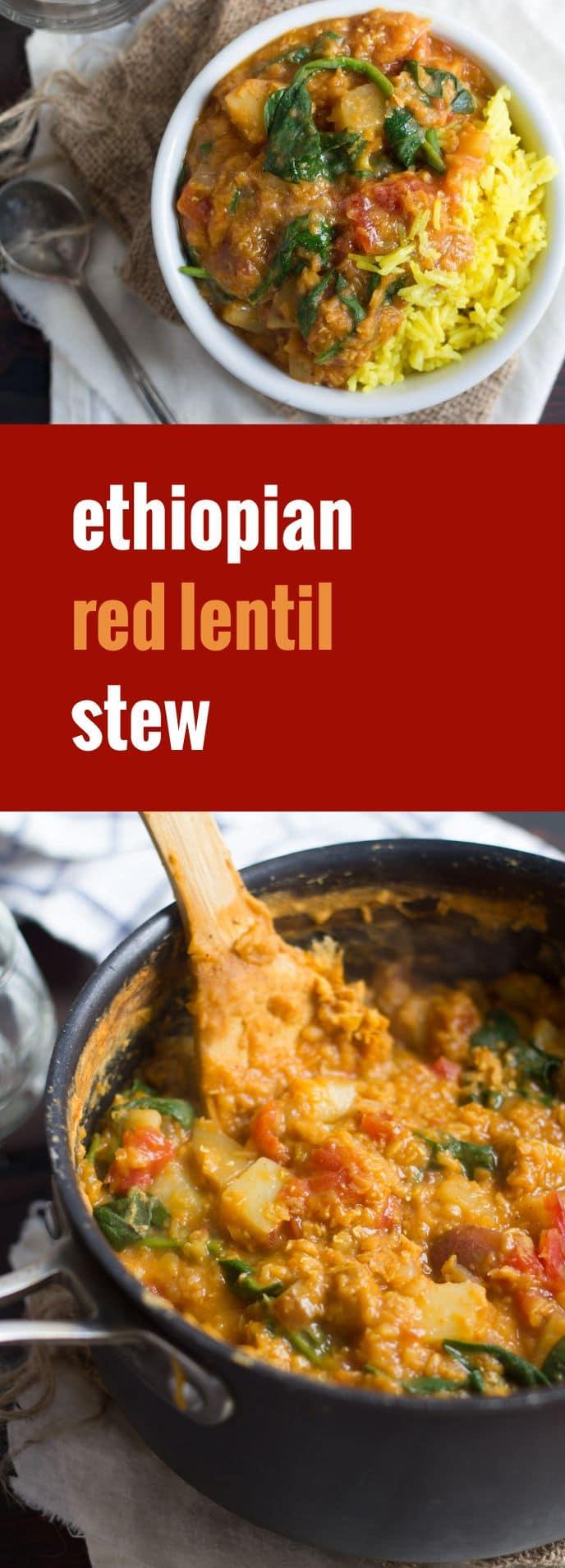 Spiced Ethiopian Lentil Stew