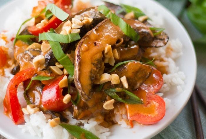 Portobello Panang Curry