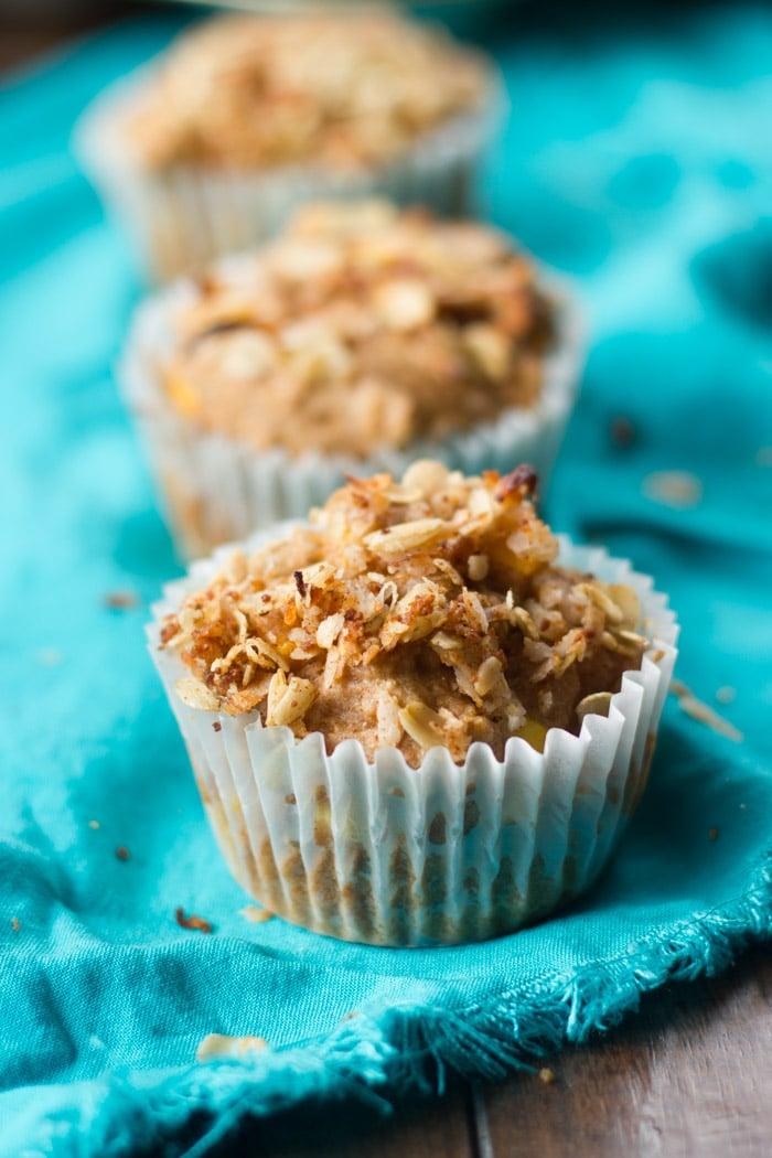 Vegan Mango Muffins