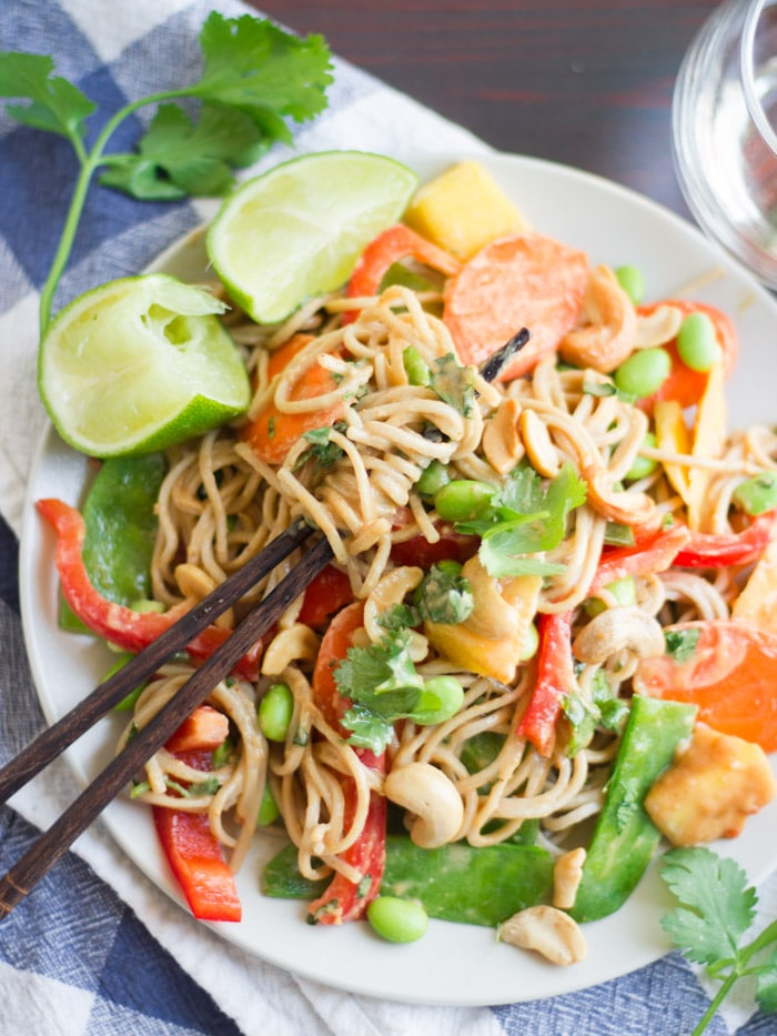 Cashew Soba Noodle Salad