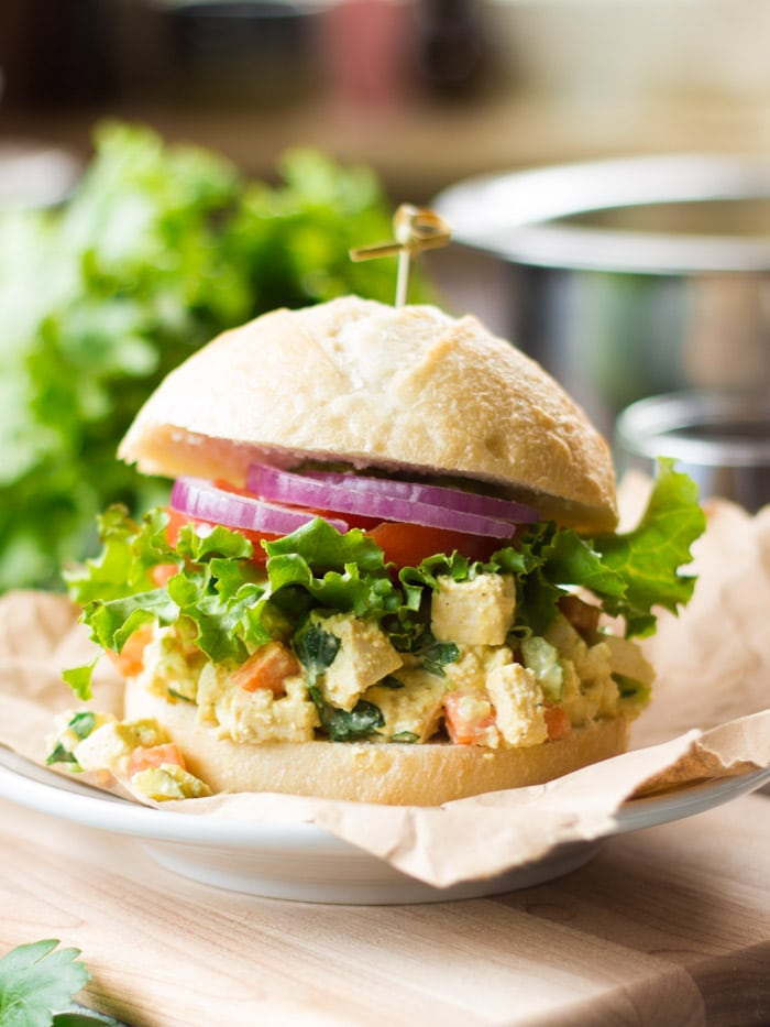Vegan Egg Salad (Made with Tofu!)