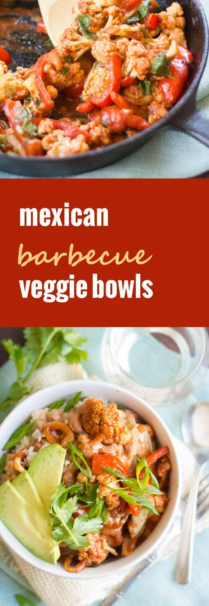 Mexican Barbecue Veggie Bowls