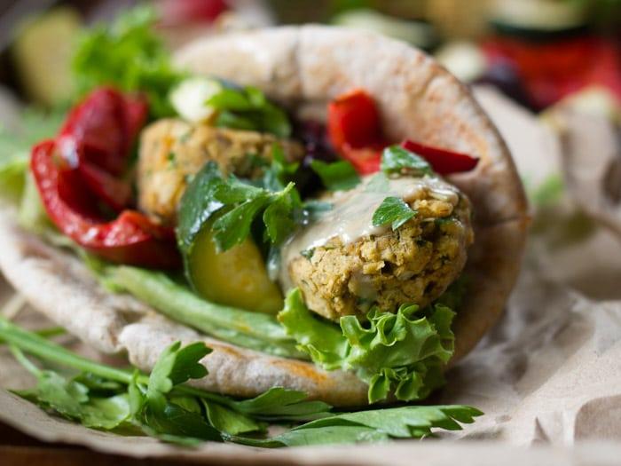 Turkish Style Vegan Kofte Kebabs
