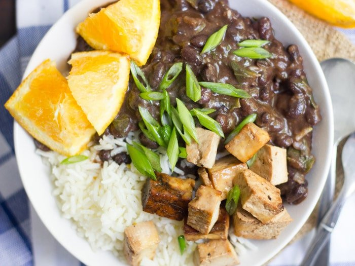Vegan brazilian black bean bowls connoisseurus veg vegan brazilian black bean bowls forumfinder Image collections