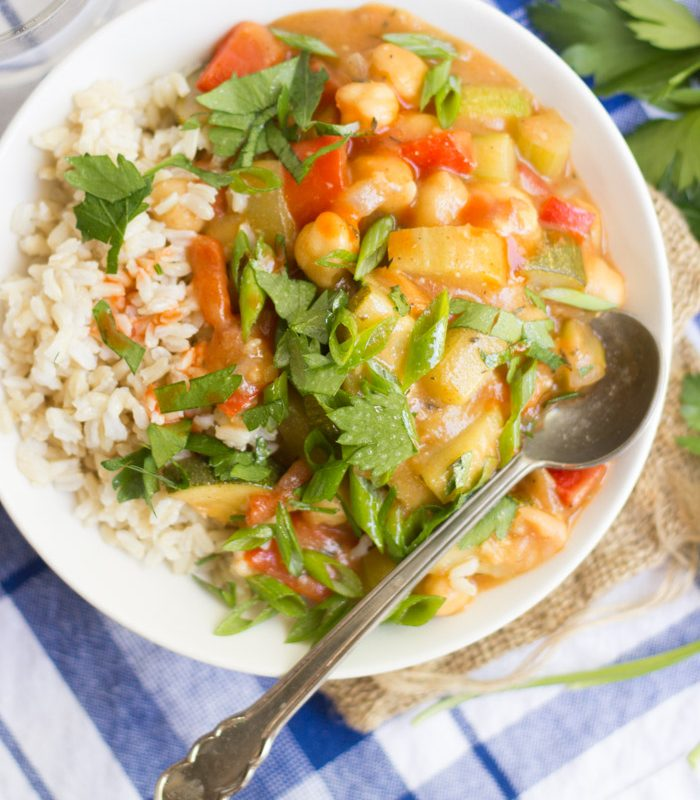 Vegan Summer Vegetable Étouffée