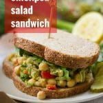 Smoky Smashed Chickpea Salad Sandwiches