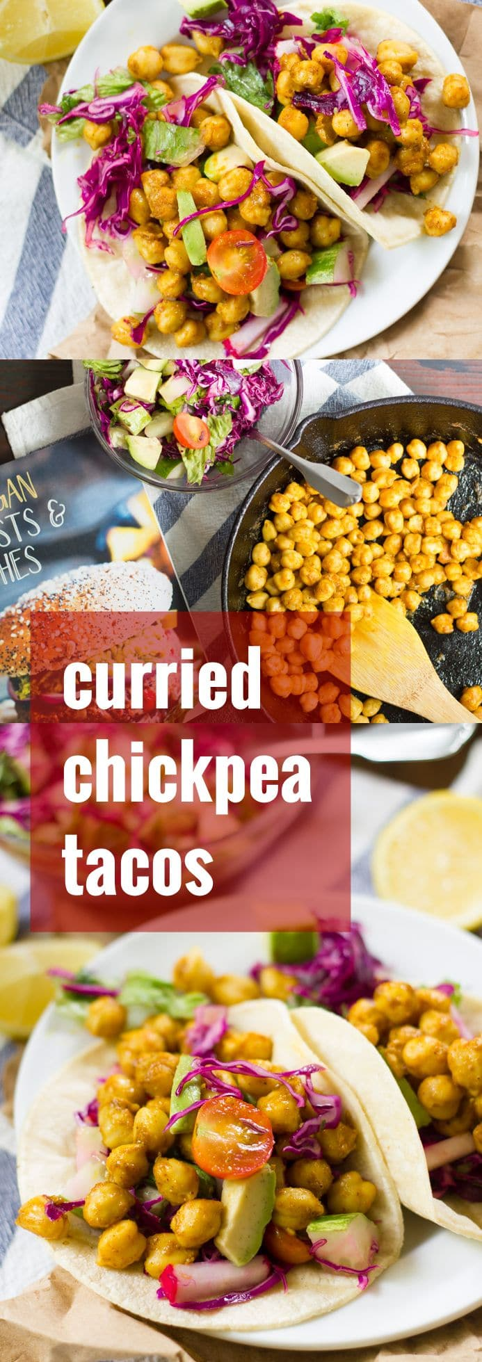Curried Chickpea Tacos
