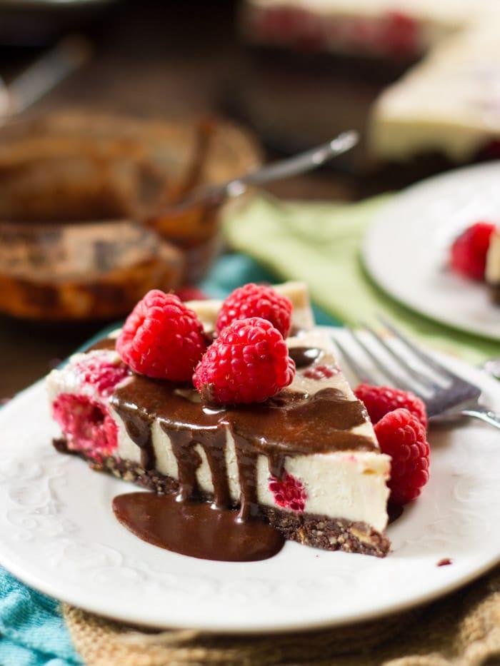 Black Bottom Raw Cheesecake