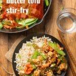 Peanut Butter Tofu Stir-Fry
