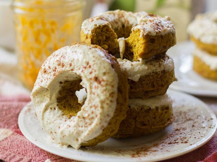 Chai Golden Milk Doughnuts