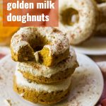 Chai Golden Milk Doughnuts