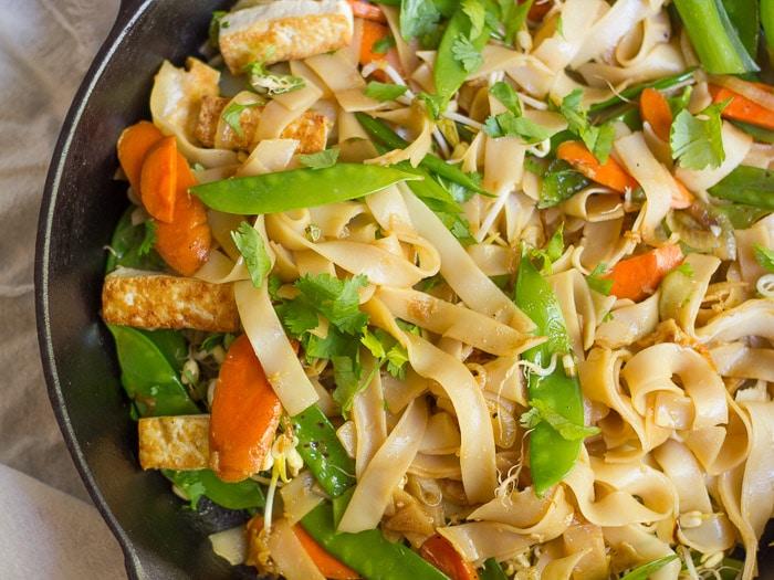 Tofu Chow Fun