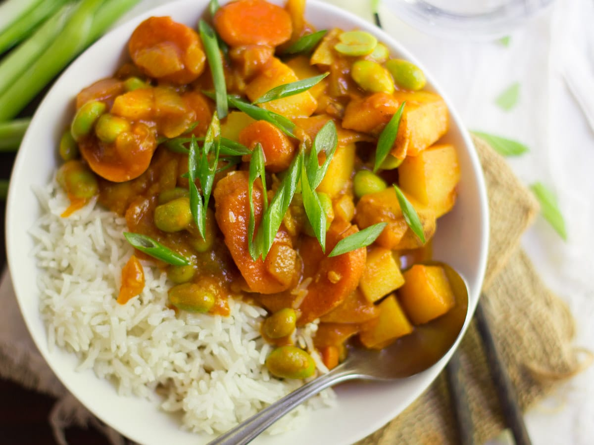 Vegan Japanese Curry Connoisseurus Veg