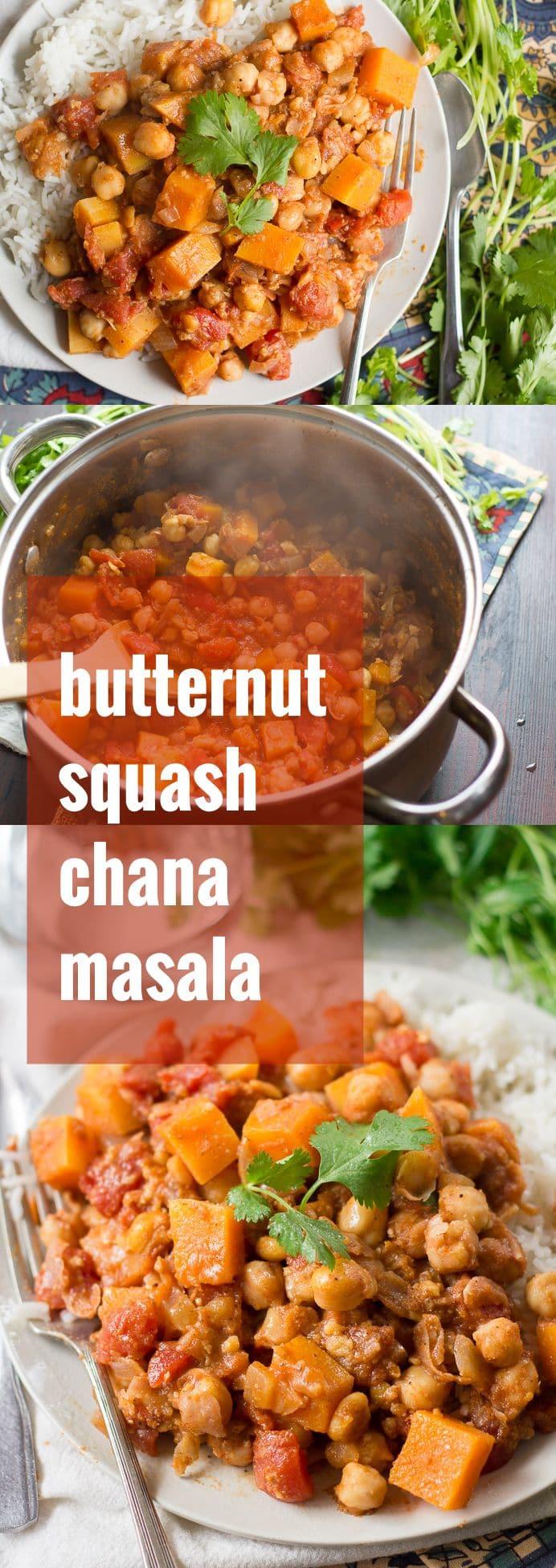 Butternut Squash Chana Masala