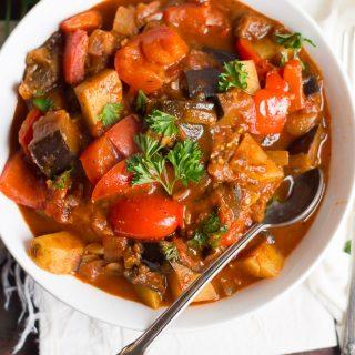 Eggplant Goulash