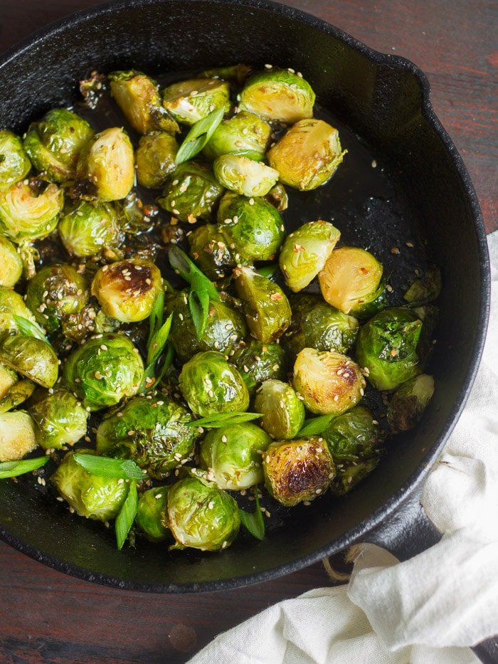 Sweet Amp Sour Brussels Sprouts Connoisseurus Veg