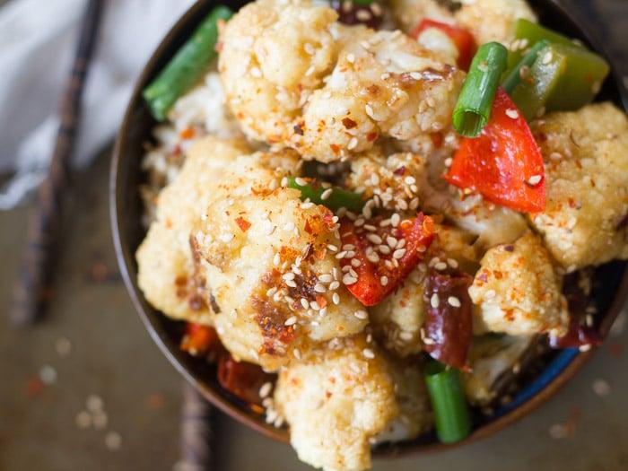 Spicy Hunan Cauliflower