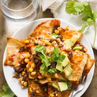 Black Bean Chilaquiles