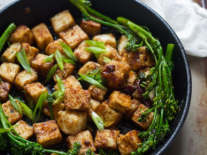 Crispy Black Pepper Tofu