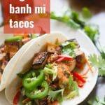 Smoky Tofu Banh Mi Tacos