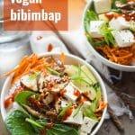 Vegan Bibimbap
