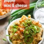 Vegan Jalapeño Popper Mac & Cheese
