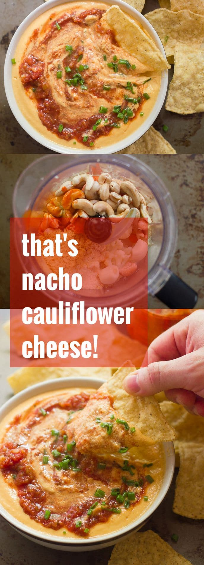 That's Nacho Cauliflower Cheese!