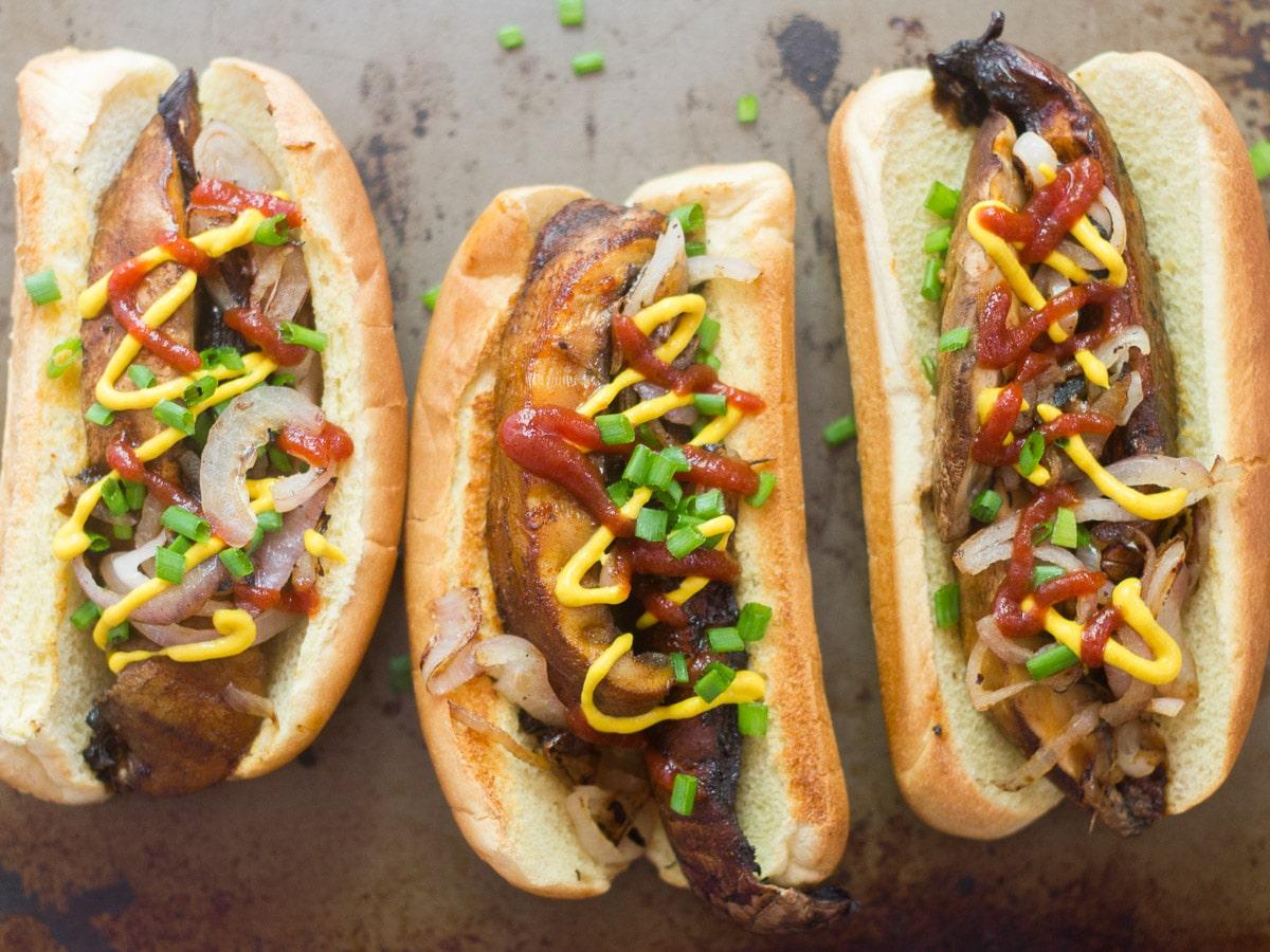 how to make veg hot dog
