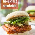 Tempeh Breakfast Sandwiches