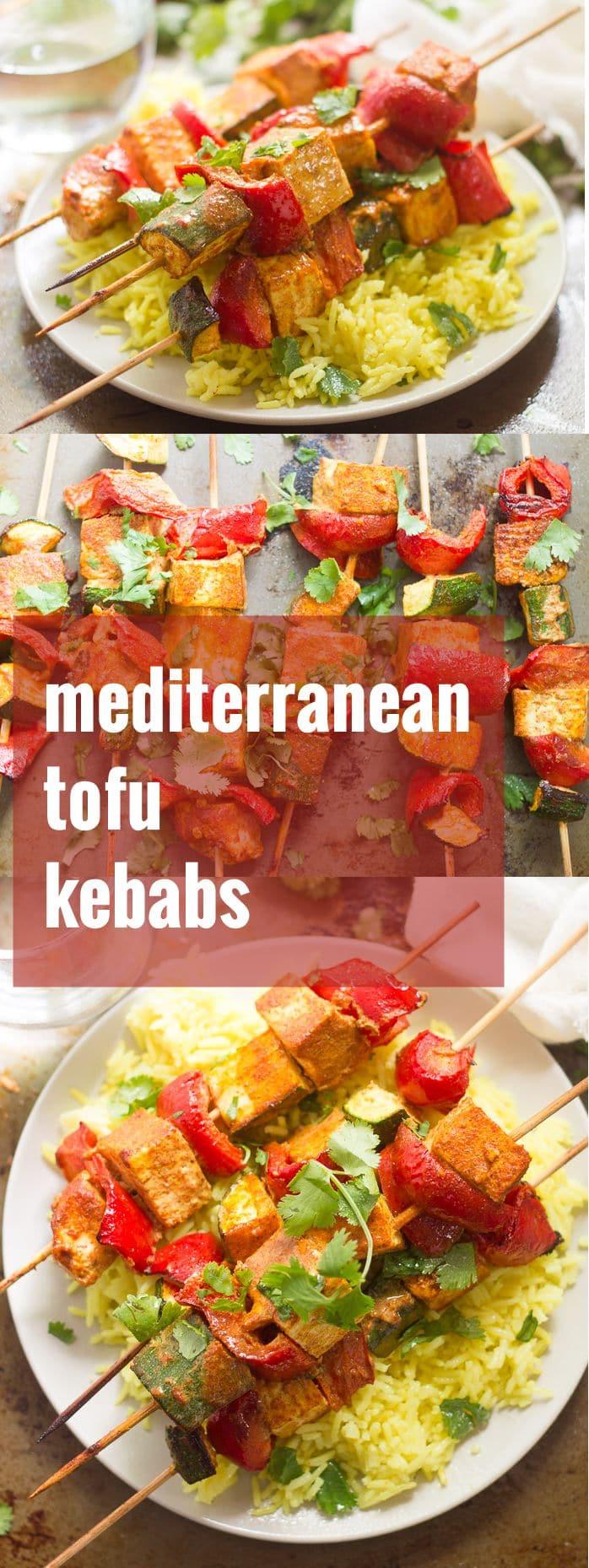 Mediterranean-Spiced Tofu Kebabs