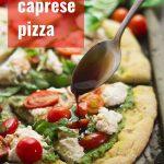 Vegan Caprese Pizza