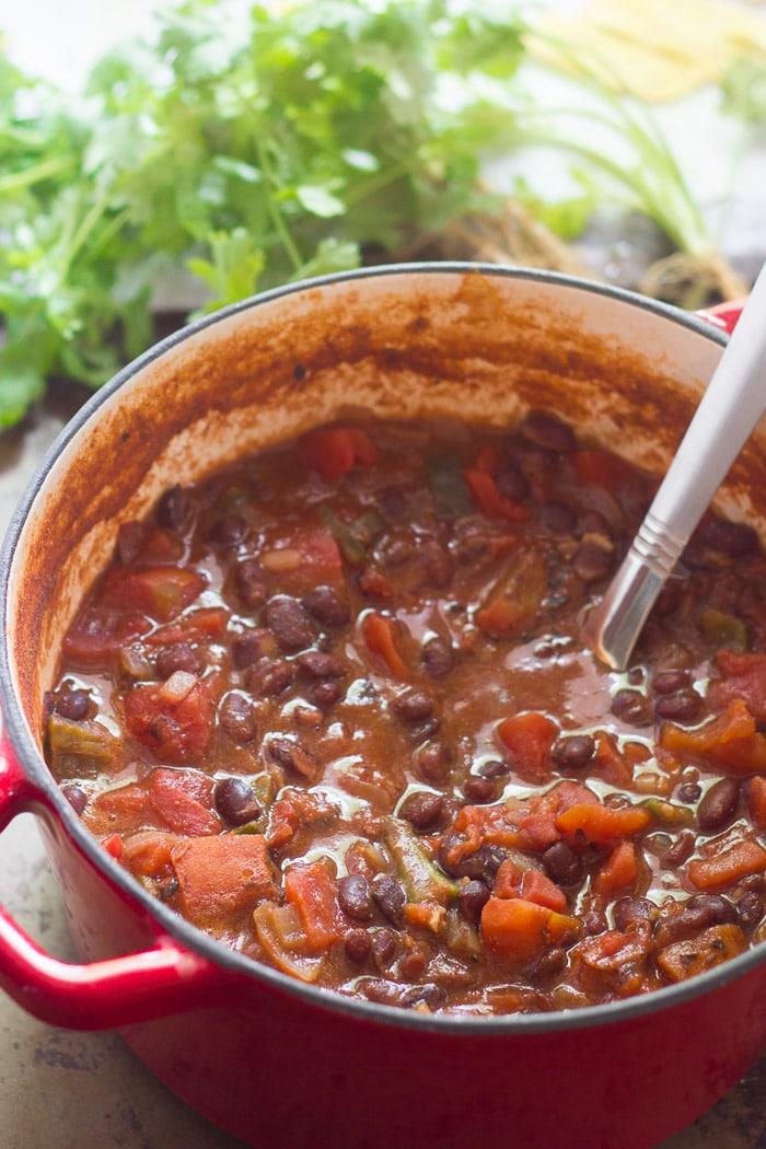 taco soup black beans