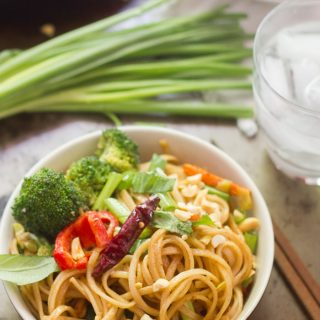 Stir-Fried Hoisin Noodles