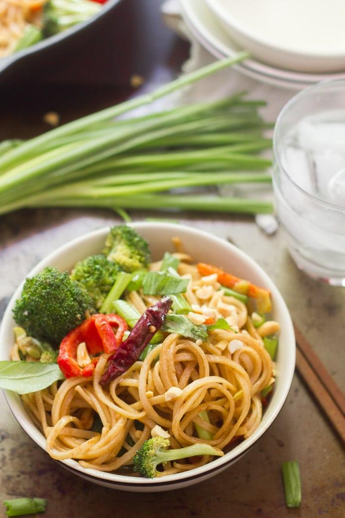 Stir-Fried Hoisin Noodles
